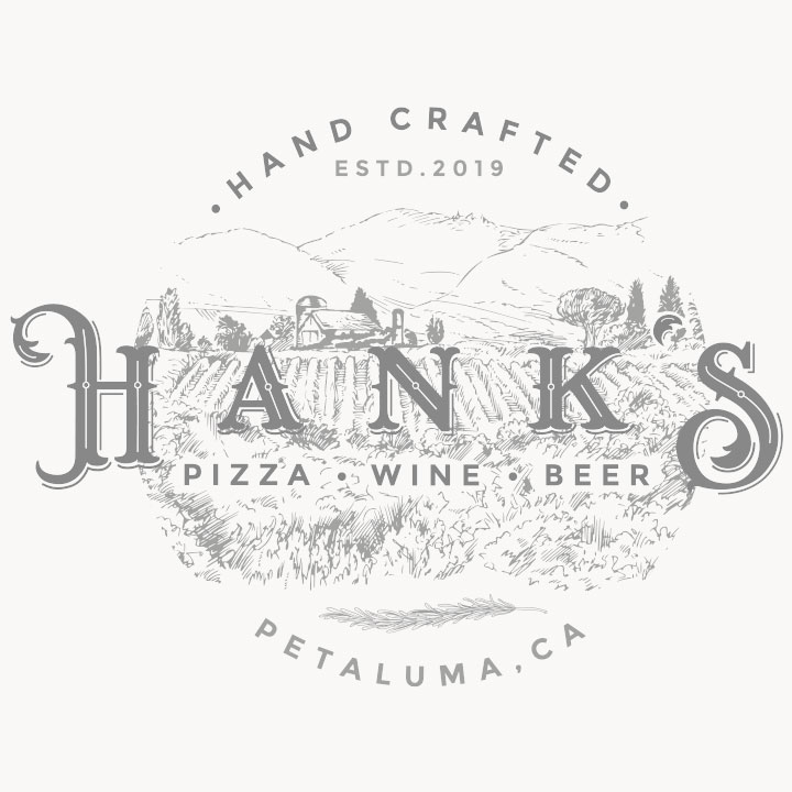 Hank's Wood-Fired Logo
