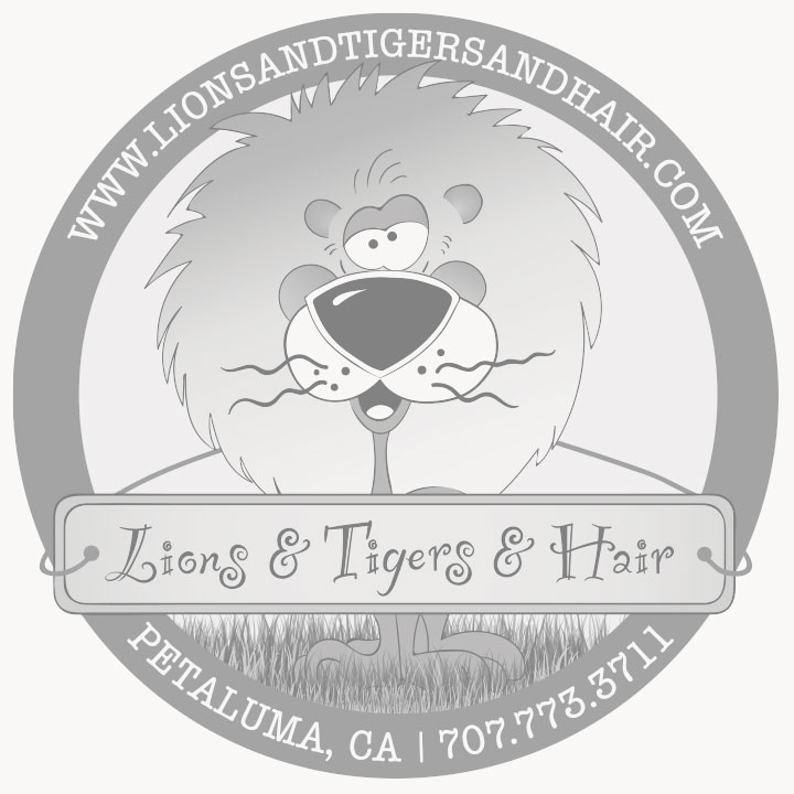 Lions & Tigers & Hair Logo