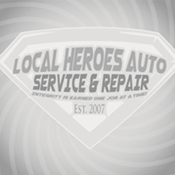 Local Heroes Auto Repair Logo
