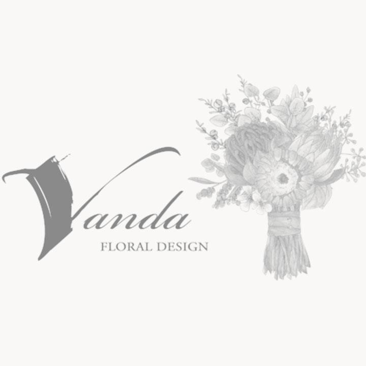 Vanda Floral Design Logo
