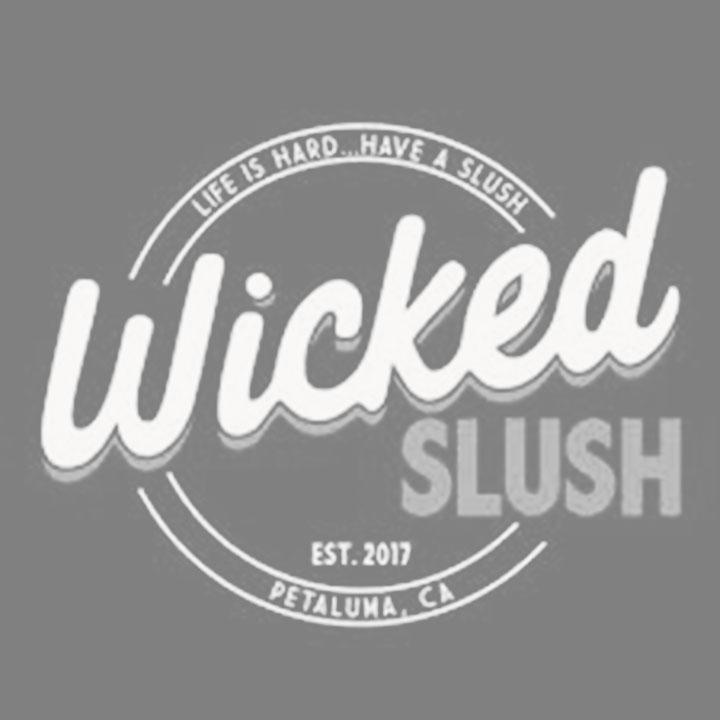 Wicked Slush Petaluma Logo